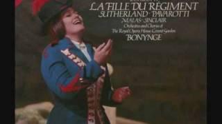 Joan Sutherland Luciano Pavarotti La Fille du Regiment Donizetti