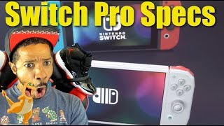 Nintendo Switch Pro Specs Revealed?