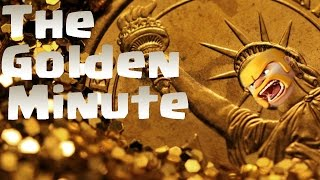 "Clash Of Clans - ""The Golden Minute"" How To Get TONS Of Loot/Trophies Easily!!"