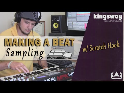 Making a Hip Hop Beat: Sampling Kingsway Music Library Vol. 2 - 'Love for the Game' (prod. TCustomz)