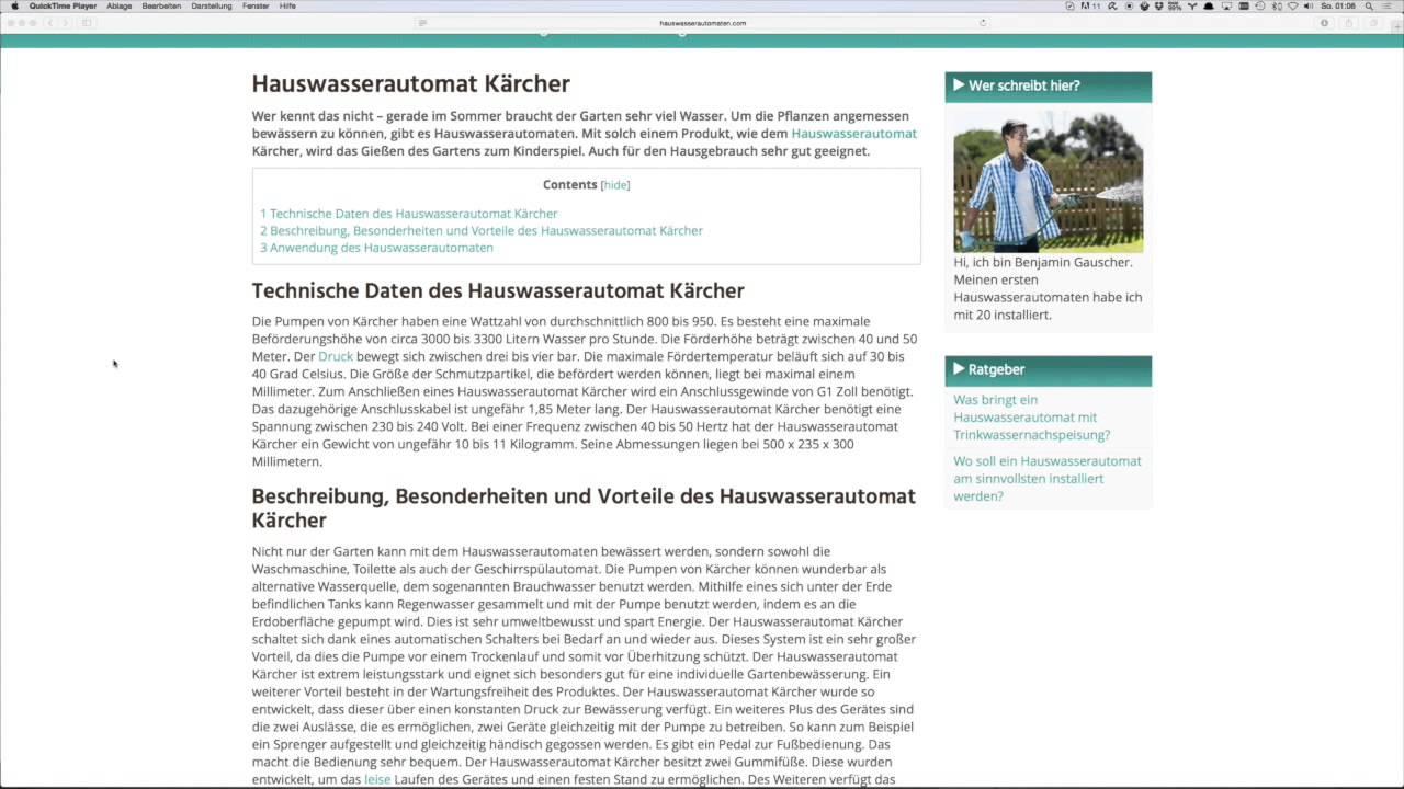 hauswasserautomat kärcher | tests & kaufempfehlung - youtube