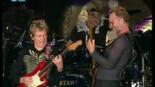The Police - Voices inside my head - Rock In Rio Madrid 2008 HQ Alta Calidad