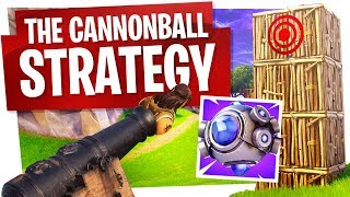 NEW SHOCKWAVE GRENADE creates NEW Cannonball Strategy! - Fortnite New Nade Gameplay