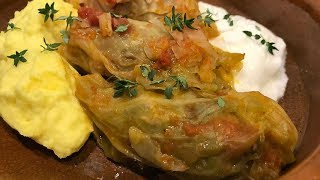 Sarmale (hojas de col rellenas)