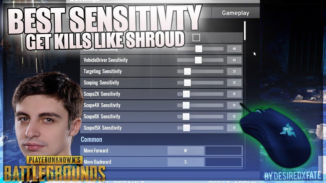 Best pubg sensitivity settings xbox one