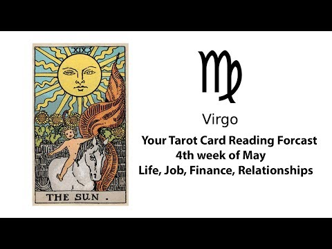 General Tarot Card Reading for Virgo for 4th of May | Life, Work, Money, Relationships