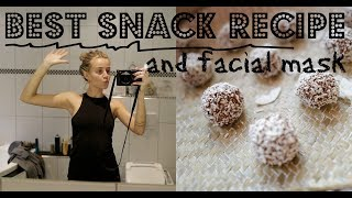 BEST SNACK RECIPE & FACIAL MASK (ENGLISH)
