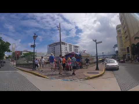 Puerto Rico Cruise Ship Port Shopping area