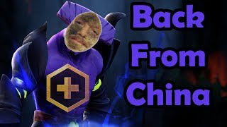 BACK FROM CHINA FIRST DOTA PLUS GAME (Gorgc Dota Highlights)