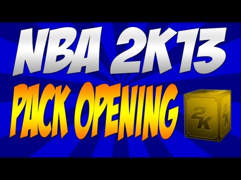 "NBA 2K13 My Team 50,000 VC Pack Opening - Taking over the ""World"""