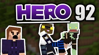 Minecraft HERO #92 - Fragerunde zu 4t! | Zombey