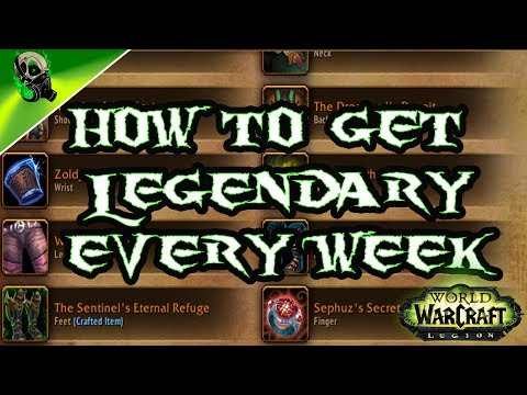 Fastest way to get legendary's 7 3 Argus - World of Warcraft