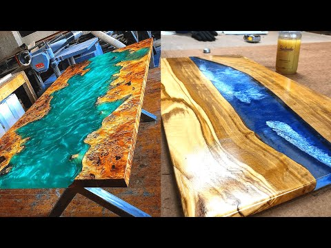 AMAZING Epoxy Resin River Table Designs ! Awesome DIY Projects