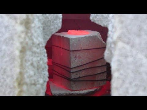 Древние технологии. Литьё металлов - Видео приколы смотреть