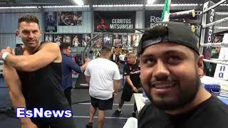 Pita Garcia Reveals Eddie Hearn Offers Mikey SICK MONEY Set To Meet Next Week EsNews Boxing