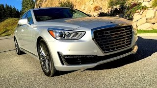 2017 Genesis G90 EQ900 Hyundai Equus Part Deux FIRST DRIVE REVIEW 2 of 2