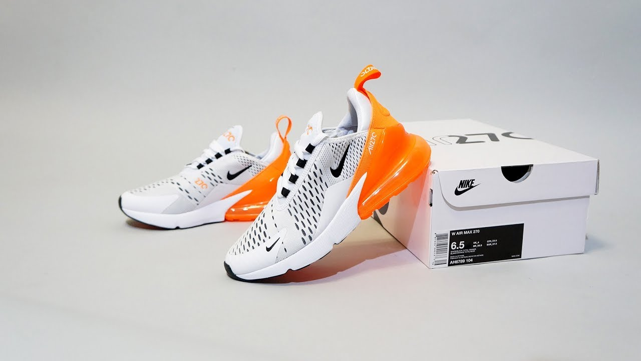 super popular d42a4 d617c Nike Air Max 270 White