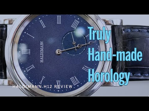 Haldimann H12 Review: Real Deal Hand Made Modern Watchmaking