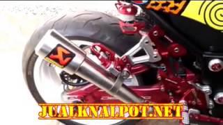 Jual Knalpot Ninja 250 FI Karbu Akrapovic Pedrosa