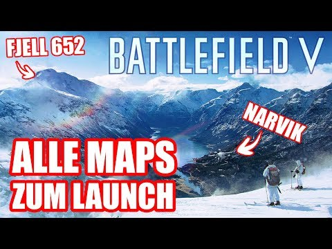 Battlefield V: diese Maps gibt's zum Launch! TUTORIALS INCOMING!