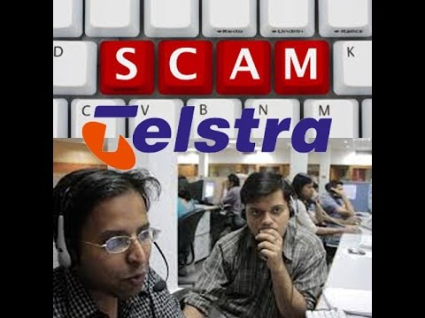 Scam Telstra - Telstra Calling - Warning Australia 2017