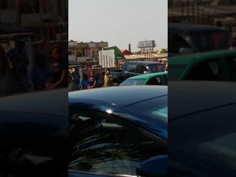 Utako Market, Traders protesting in Abuja