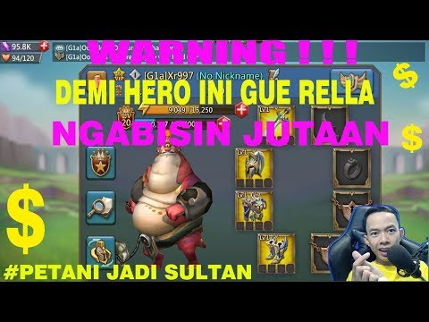 PETANI JADI SULTAN | LORDS MOBILE INDONESIA