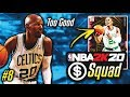 NO MONEY SPENT SQUAD!! #8 | WE GOT THE BEST RUBY REWARD CARD IN NBA 2K20 MyTEAM!!