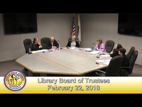 Library Board of Trustees | February 22, 2018