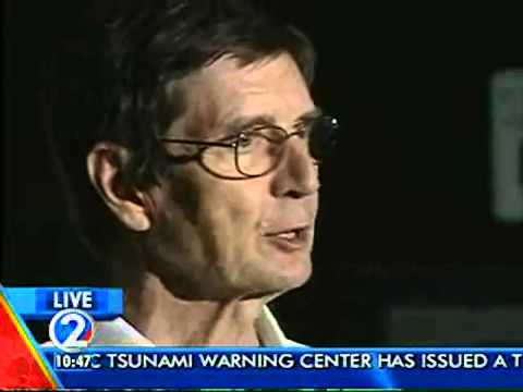 PTWC on first set of tsunami waves