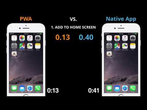 Progressive Web App vs. Native App