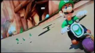 Mario Kart 8 - Luigi death stare - Move Bitch Get Out The Way