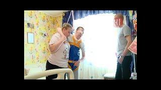 Волонтеры сделали для инвалида домашний тренажер