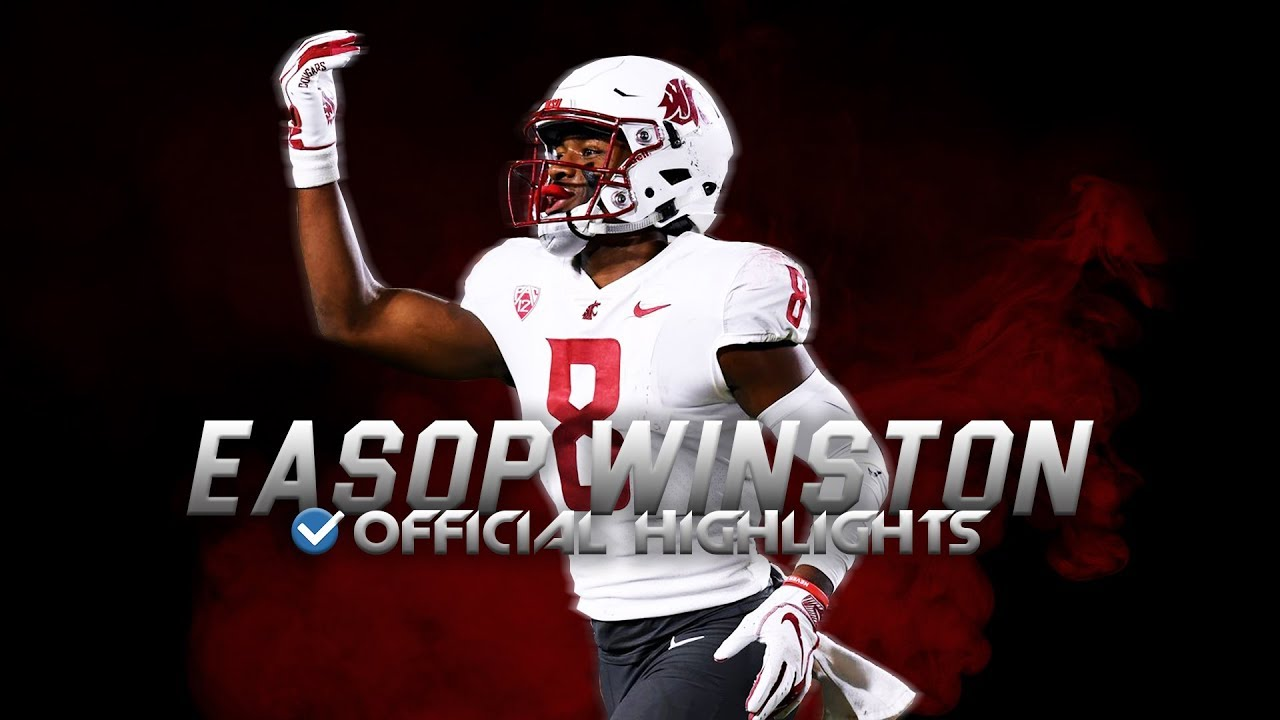 Easop Winston Jr. Official Washington State Highlights - Best Hands in the Pac-12 ᴴᴰ