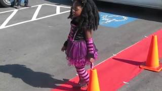 My daughter getting out of her limo and performing at her birthday ...