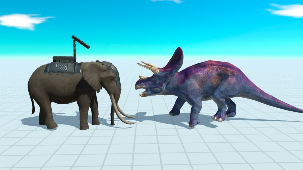 Rocket Elephant vs Every Animal in Animal Revolt Battle Simulator