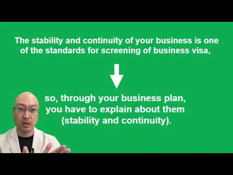 The importance of business plan for getting business manager visa