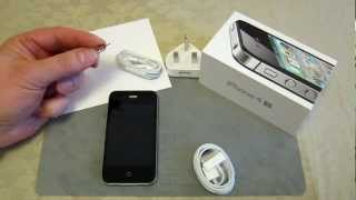 iPhone 4s - How to insert a MICRO SIM + Hidden Serial Number under removeable tray