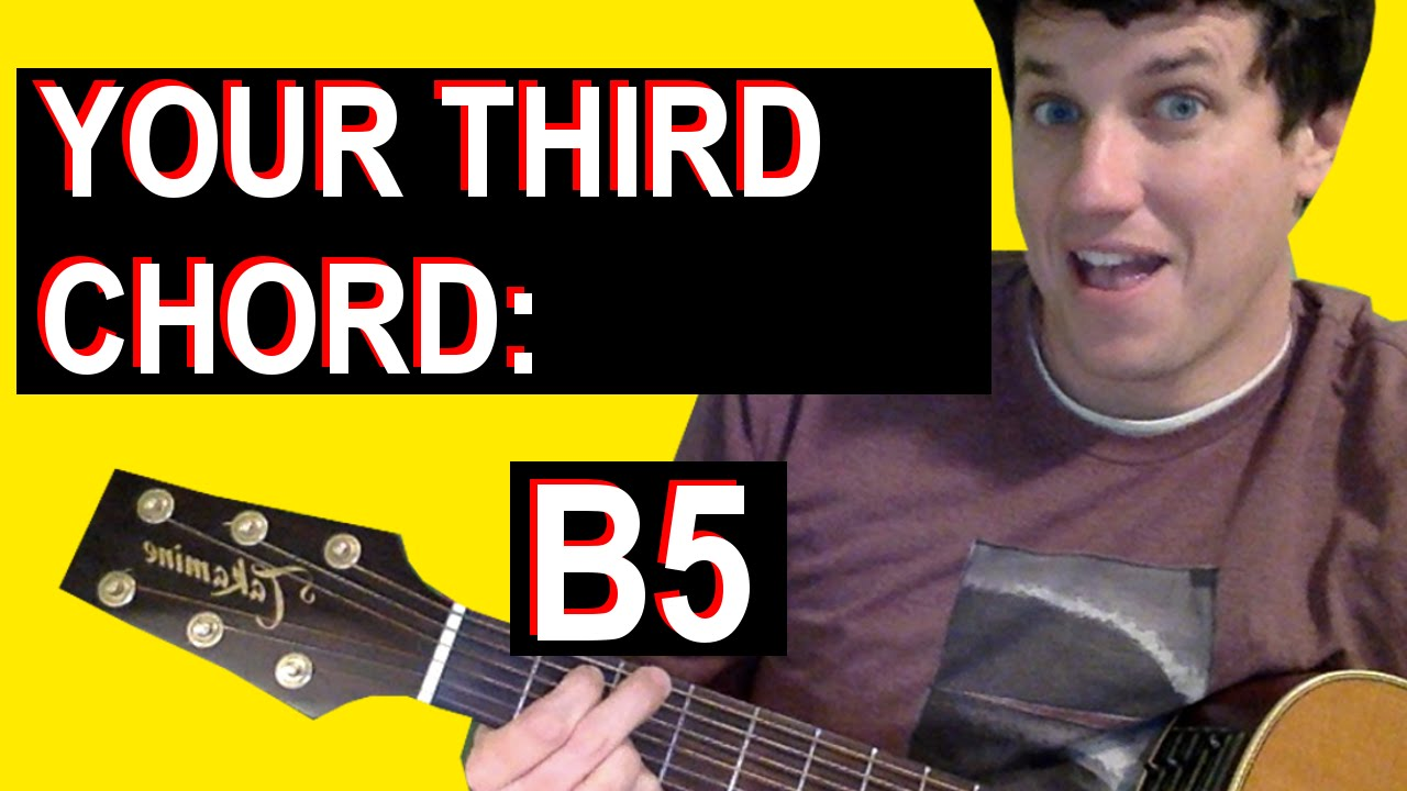 Guitar lessons for beginners your third chord b5 youtube guitar lessons for beginners your third chord b5 hexwebz Gallery