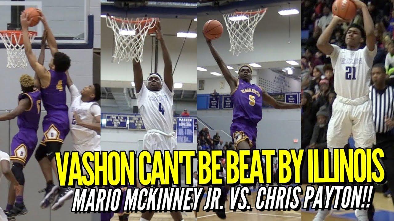 Vashon vs. Bloomington Goes DOWN TO THE WIRE! feat. Mario McKinney ...
