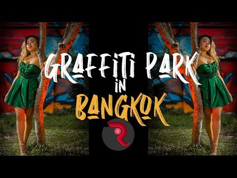 Glamour Photography In Graffiti Park Bangkok Thailand | How To Use HSS