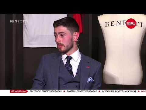 Off The Ball All Ireland final Panel with Benetti at Aviva Stadium