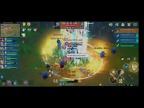 Luna M Crusader Party Grind 58 - 60