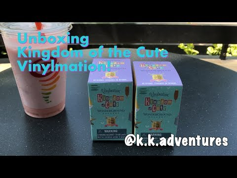 UNBOXING- Kingdom of the Cute Vinylmation!