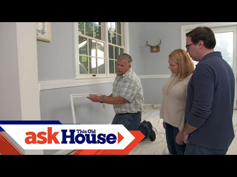 How To Create Simulated Panels With Molding | Ask This Old House