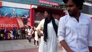 SRKR 2K18  CSE FLASH MOB   SPURTHI   GEETHA MULTIPLEX   BHIMAVARAM
