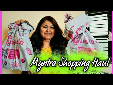 "*HUGE* Myntra ""EORS"" Haul || Kurtas, Palazzo, Bags, Shoes, Watches, Dresses || ""BIGGEST"" Sale Ever"