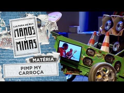 Matéria: Projeto Pimp My Carroça
