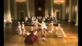Придворные танцы эпохи барокко под музыку Генделя.
