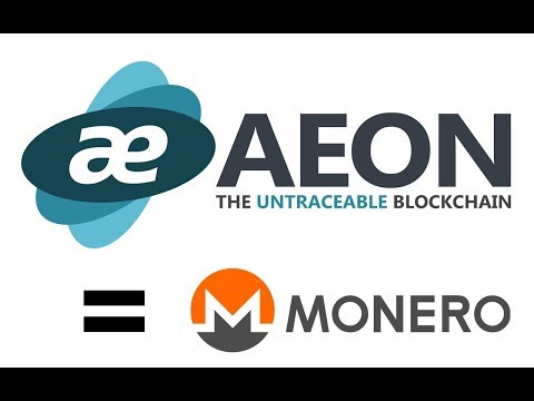 AEON COIN IS UNDERVALUED - MISSED MONERO TRAIN, BUY AEON NOW - BEST PRIVACY COIN 2017